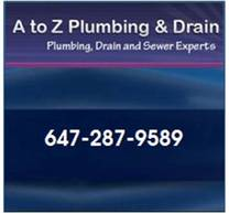 A to Z Plumbing and Drain Logo