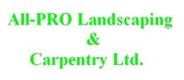 All-Pro Landscaping & Carpentry Ltd. logo