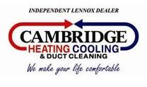 Cambridge Heating Cooling & Duct Cleaning Logo