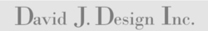 David J. Design Inc. logo
