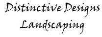 Distinctive Designs Landscaping logo