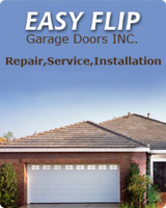 Easy Flip Garage Doors Inc. logo
