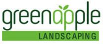 Green Apple Landscaping logo