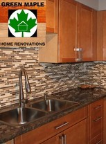 Green Maple Home Renovations Logo