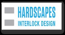 Hardscapes Interlock Design logo