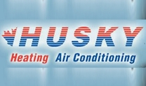 Husky Heating and Air Conditioning Logo