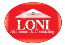 Loni Aluminum and Contracting Logo