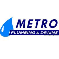 METRO Plumbing & Drains Logo