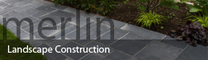 Merlin Landscape Construction logo