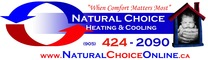 Natural Choice Heating & Cooling logo