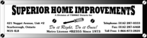 Superior Home Improvements Logo