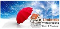Umbrella Waterproofing, Drains and Plumbing Solutions Logo