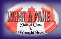 What A Pane logo