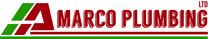 A Marco Plumbing Ltd. logo