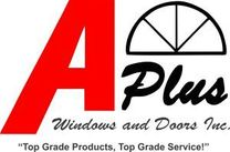 A Plus Windows and Doors Inc logo