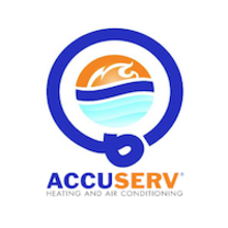 AccuServ Heating and Air Conditioning logo