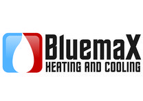 Bluemax Heating and Cooling Logo