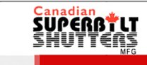 Canadian Superbilt Shutters logo