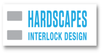 Hardscapes Interlock Design logo