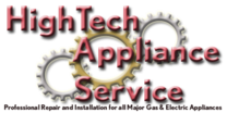 High Tech Appliance Service Logo
