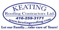 Keating Roofing logo