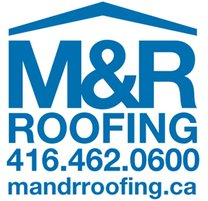 M&R Roofing logo