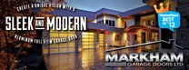 Markham Garage Doors LTD. Logo