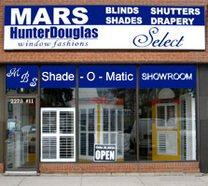 Mars Blinds & Shutters Logo