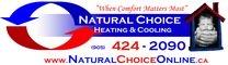 Natural Choice Heating & Cooling Logo