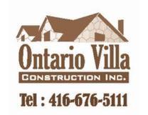 Ontario Villa Construction Logo