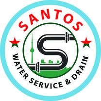 SANTOS WATER SERVICE &DRAIN logo