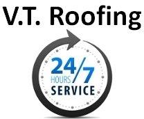 V.T. Roofing Inc. Logo